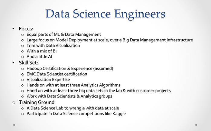 Data Science Engineers 01-01
